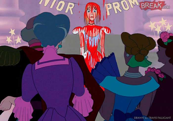 Las princesas Disney cenicienta carrie