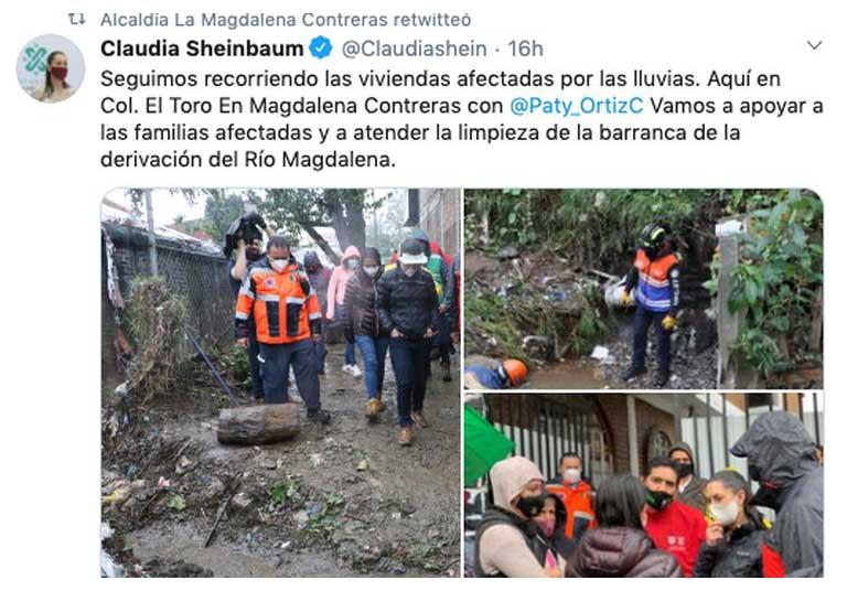 tuit de Claudia Sheinbaum México Mágico
