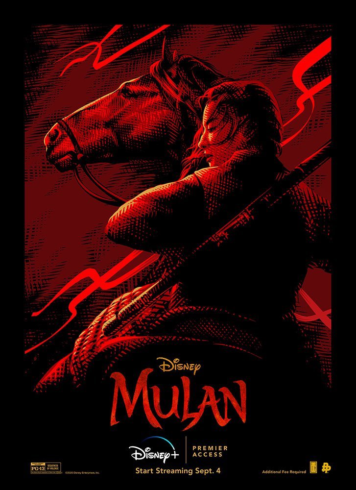 Postér de Mulán 2020