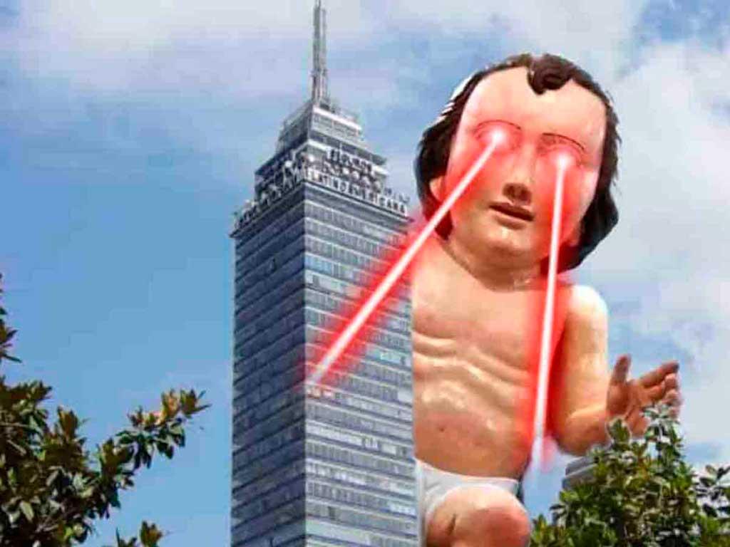 méxico mágico niño dios gigante torre latino