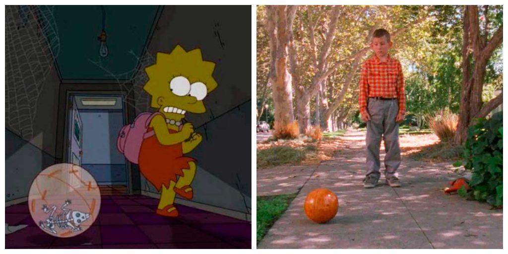 Guiño de Los Simpsons a Malcolm el de en Medio