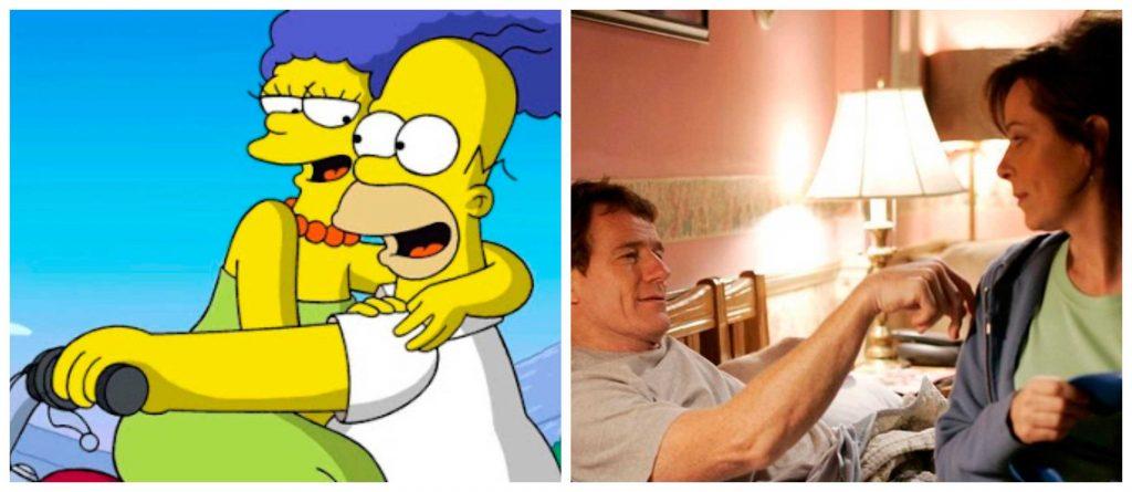 Marge y Homero, Hal y Lois