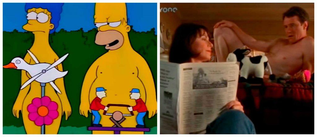Los Simpsons y Malcolm el de en Medio