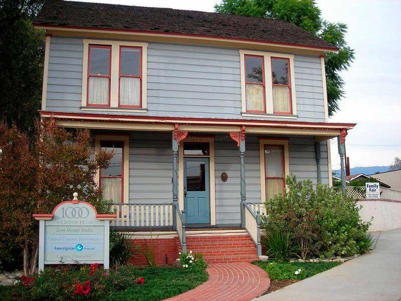 Casa de Michael Myers en Pasadena, California Lugares de películas de terror halloween google earth