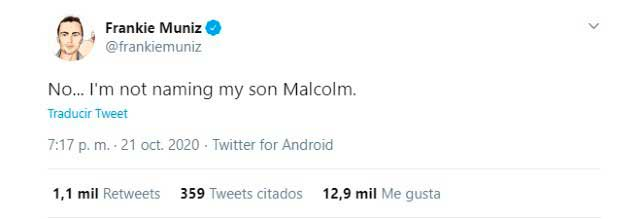 Frankie Muniz tuit