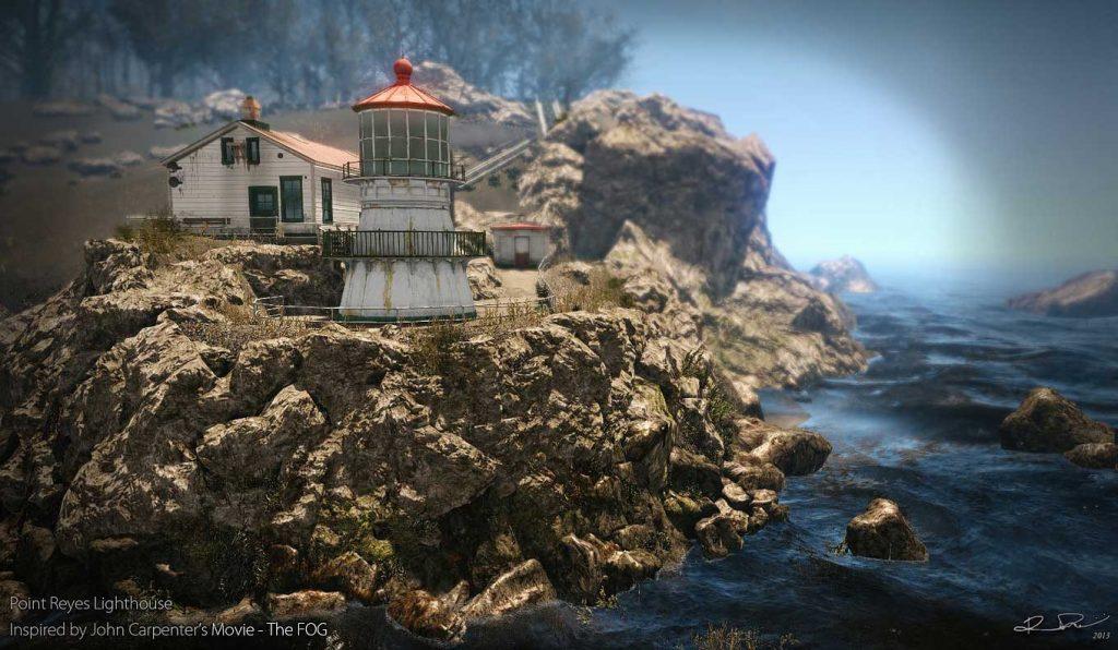 Faro de Punta Reyes lugares de película de terror