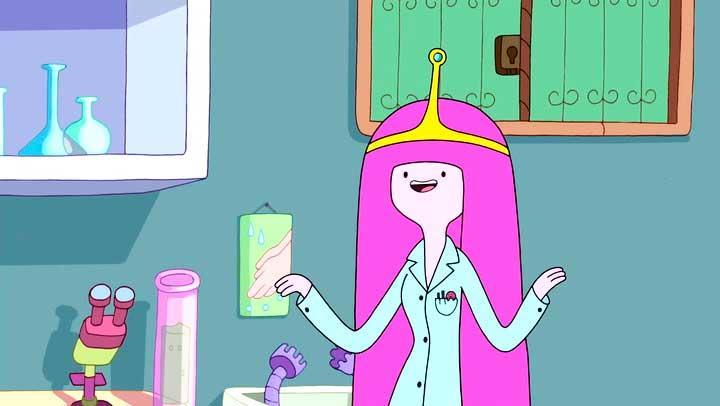 científicos princess bubblegum