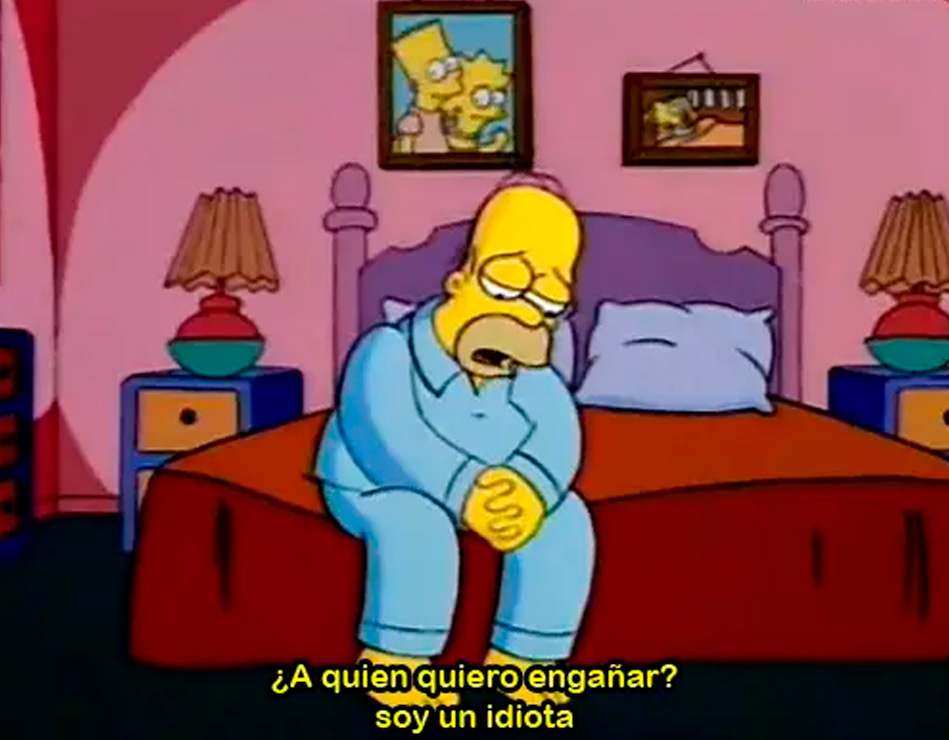 Lecciones Homero SImpson