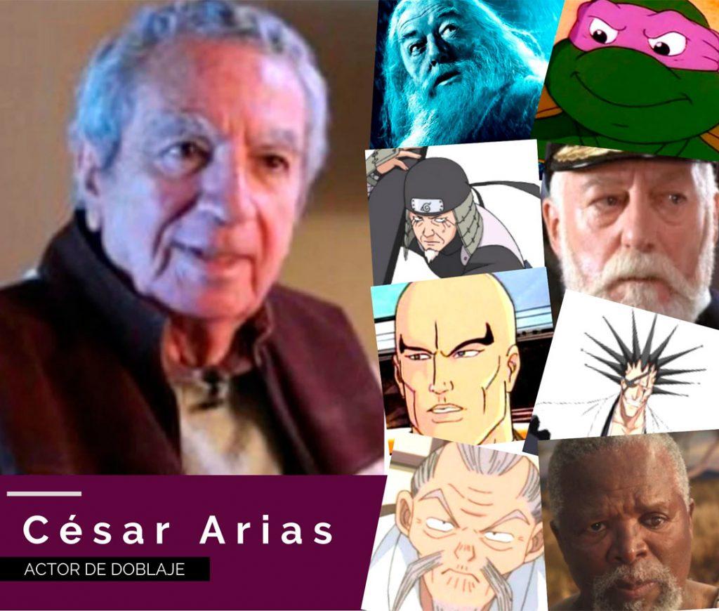 César Arias doblaje