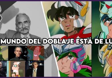 Infancia de luto, falleció el actor de doblaje mexicano Raúl De La Fuente